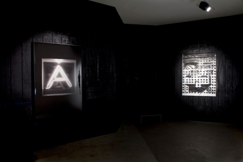 Installation view, XOXO, 2013.