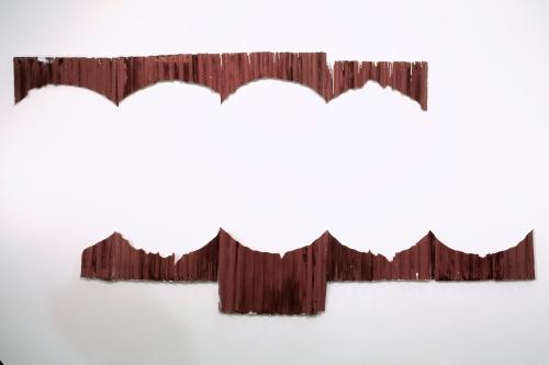 """Andrei Koschmieder, """"Untitled (Shredder),"""" 2014"""