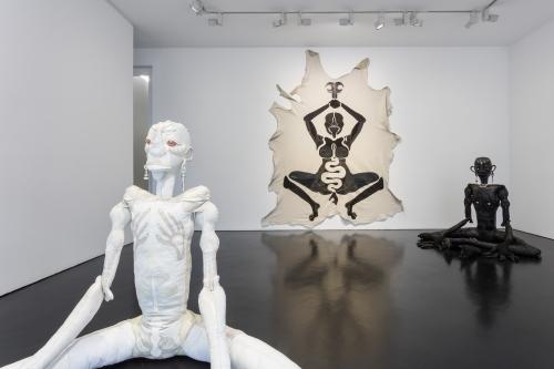 Threadbare, installation view, Stephen Friedman Gallery, London, UK, 2021.
