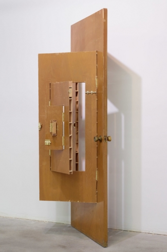 """Door #1,"" modified door, 2011"