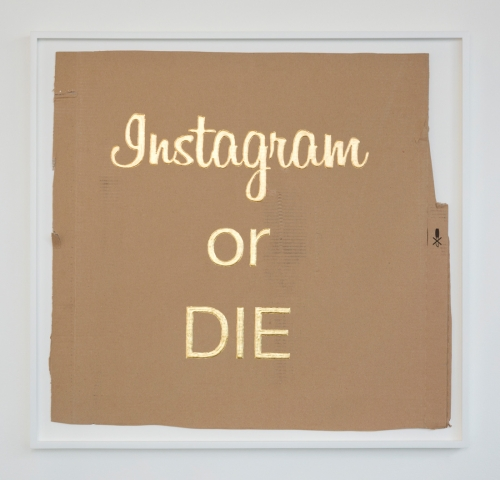 "Christine Wang, ""Instagram or Die,"" 2016"