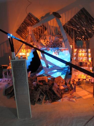 Samara Golden, Bad Brains, Installation view at Frieze New York, 2012.