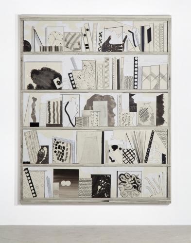 """Film Strip (white shelf 2),"" 2013"