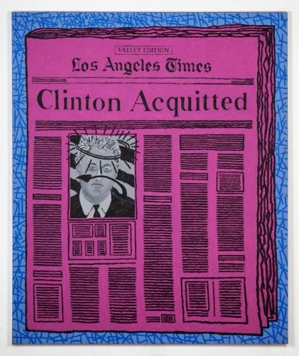 """Los Angeles Times - Clinton Acquitted,"" 2000"