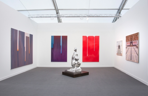 Installation view, Frieze NY, 2018
