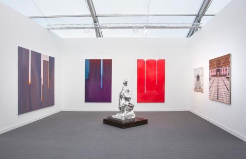 Installation view, Frieze NY, 2018