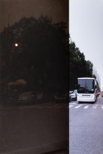"""Central Park (red light),"" 2015"