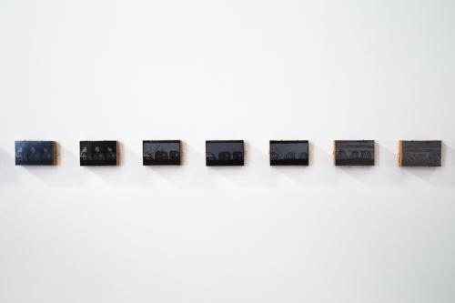 Derek Boshier, Journey/Israel Project, installation view at Night Gallery, 2014