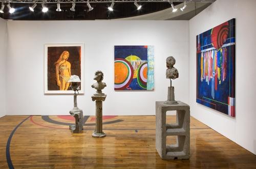 Installation view, Chicago Invitational, 2019.