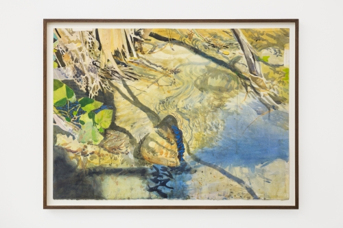 """""""When light hits the water at 4:38PM (Arroyo Seco Site),"""" 2020"""