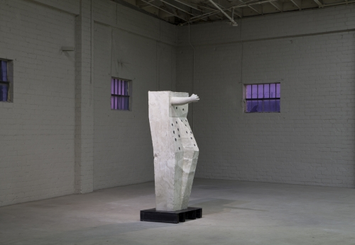 "Installation view, ""Votive #4 (Getty Aphrodite),"" 2013"