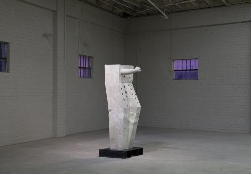 """Installation view, """"Votive #4 (Getty Aphrodite),"""" 2013"""