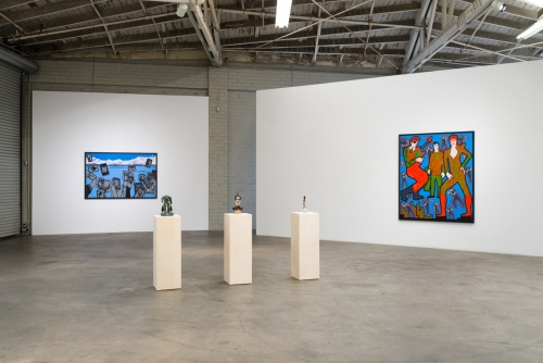 "Derek Boshier, ""On the Road,"" installation view, 2017"