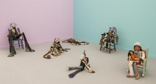 Frieze New York, installation view, 2018.