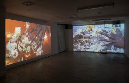 Installation view, Eurydice, 2018.