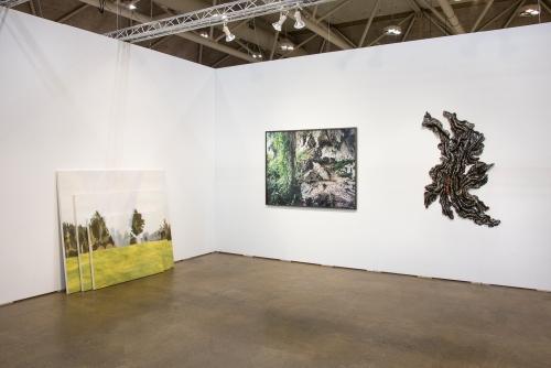 Installation view, Art Toronto, 2018