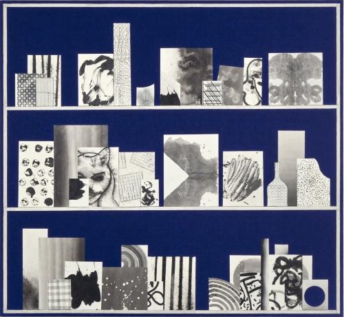 "David Korty, ""Blue Shelf #15,"" 2013"