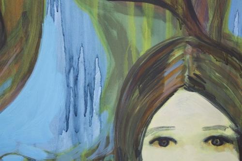 "Detail, ""Blue Sentinels,"" 2016"