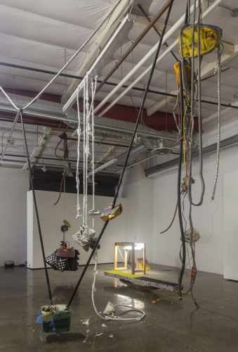 Installation view at USC Thesis Show, 2012