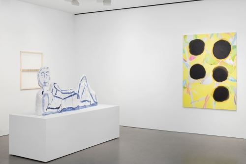 Installation view at Andrea Rosen Gallery, 2015