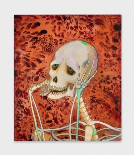 """""""Skeleton Daydreaming,"""" 2018"""