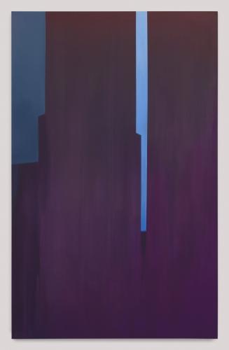 "Wanda Koop, ""In Absentia (Brilliant Blue-Deep Magenta),"" 2018"