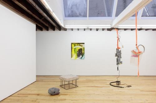 Installation view, CONDO New York, Rachel Uffner Gallery, 2018.