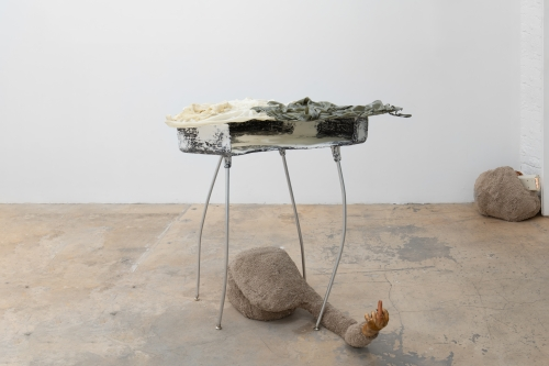 """Catalina Ouyang, """"risk assessment (but, but what made me do the bad thing?),"""" 2019"""