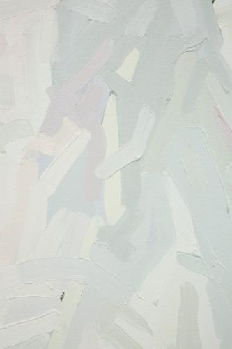 """Mt. Wilson (White, Yellow, Pink, Green, Gray),"" 2015. Detail."