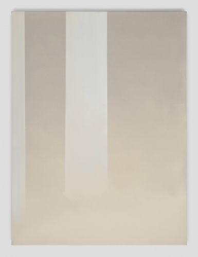 """In Absentia (Misty Gray - Cream),"" 2017"