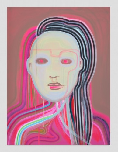 """Heartbeat Bot (Luminous Red Eyes),"" 2020"