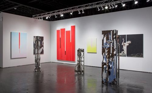 Installation view, NADA Miami, 2017