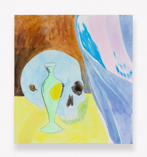 "Paul Heyer, ""Skull After El Greco (Version 1: Art Class),"" 2016"