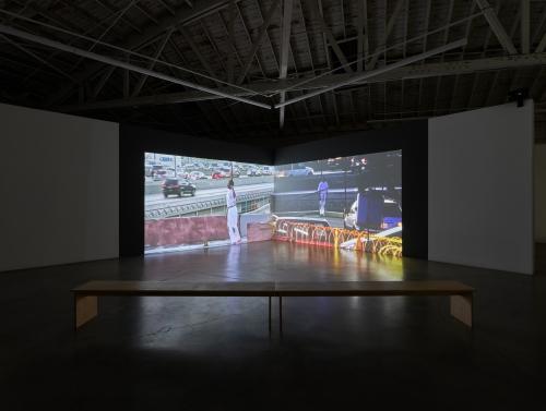 Eurydice, installation view, 2021.