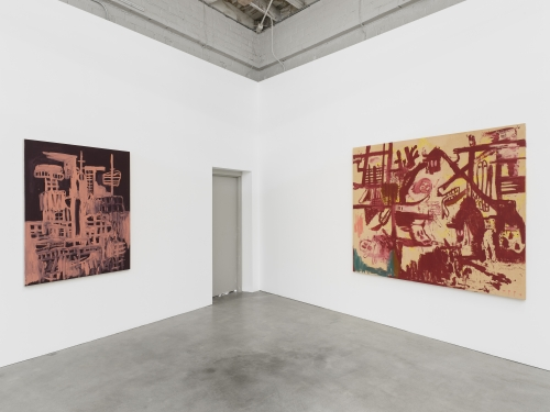 Dante, installation view, 2020.