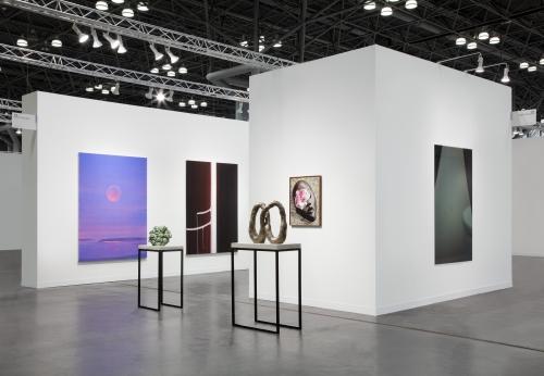 The Armory Show, installation, New York, NY, 2021.