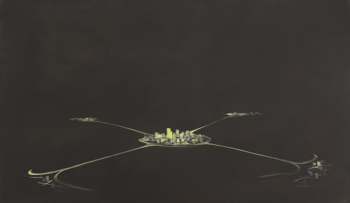"""Satellite Cities,"" 2002"
