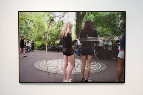 """Central Park (Imagine with girls),"" 2015"