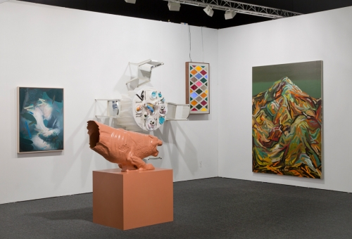 Installation view, Art Los Angeles Contemporary, 2016