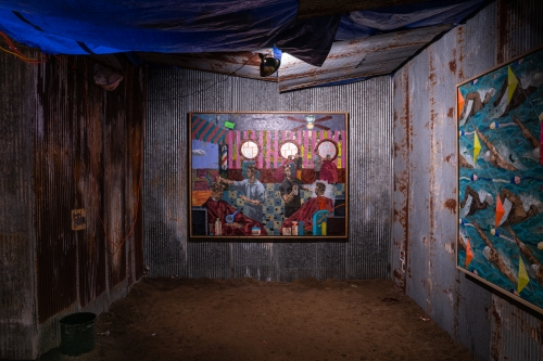 SHELTER, installation view at Contemporary Art Museum St. Louis, 2020. Photo: Dusty Kessler.