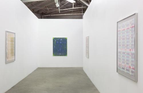 Installation view, Work, 2013.