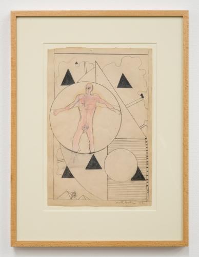 """Derek Boshier, """"Untitled,"""" 1962"""