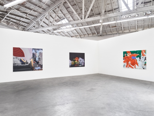 territory to be tamed ------- if not later than when, installation view at Night Gallery, 2018.