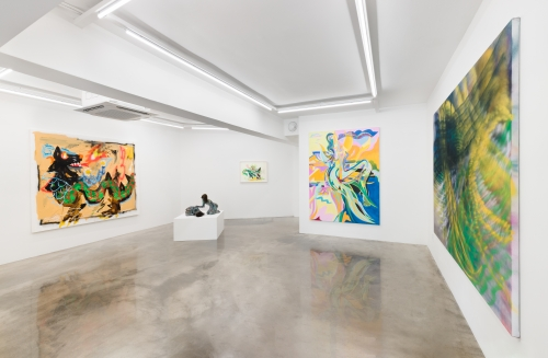 Sunburst, installation view at Various Small Fires Seoul, 2021.
