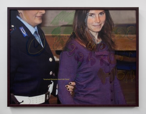 "Cara Benedetto, ""TV Painting (Amanda),"" 2020"