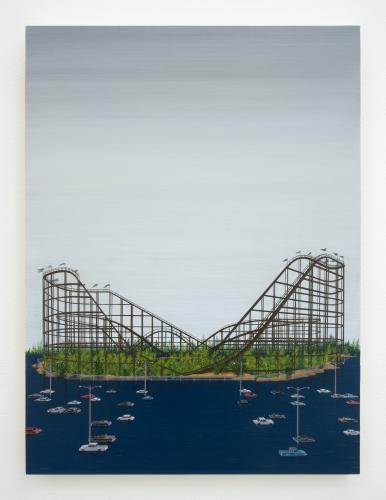 "Ian Davis, ""Rollercoaster (version),"" 2020"