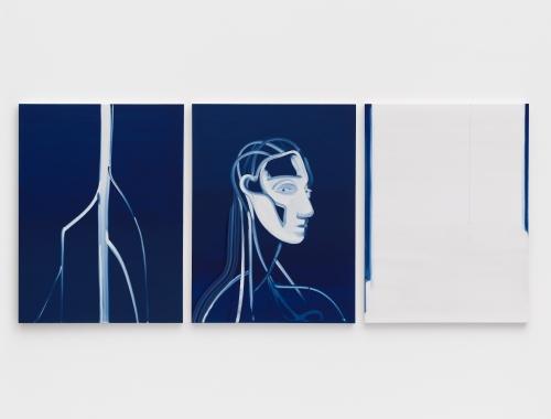 """Caravaggio Blue,"" 2020"