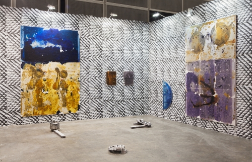 Installation view at Art Basel Hong Kong, 2015