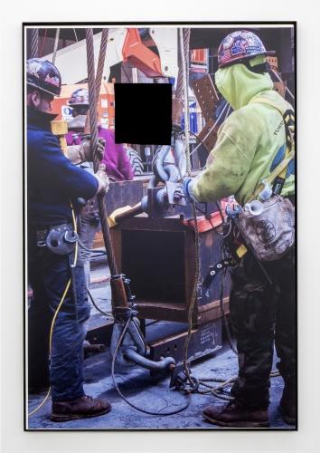"""Construction Core,"" 2018. Image courtesy of Mary Mary Gallery."