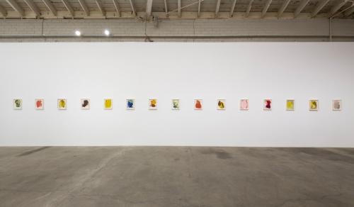 Installation view, Passage, 2018